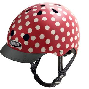 Nutcase Street Helm Mini Dots Kinder-...