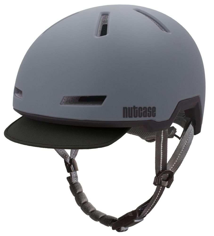 nutcase tracer shadow grey matte fahrradhelm e bike. Black Bedroom Furniture Sets. Home Design Ideas