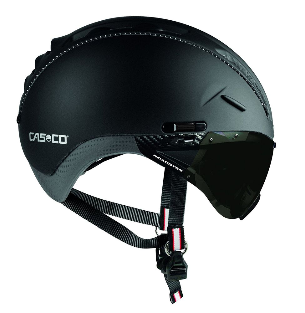 casco roadster visor fahrradhelm mit visier. Black Bedroom Furniture Sets. Home Design Ideas