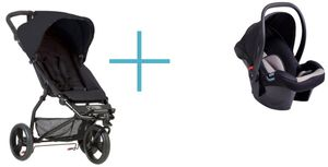 Mountain Buggy Mini 2017 black +...