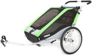 Thule Chariot Cheetah 2 inkl. Fahrradset Weber und Buggyset 001