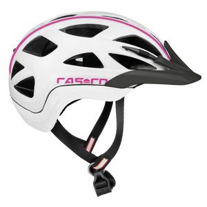 Casco Active 2 Junior in weiß pink - Kinderfahrradhelm – Bild 1