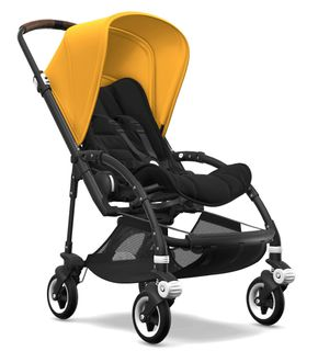 Bugaboo Bee5 Kinderwagen Core Collection Gestell Schwarz – Bild 24