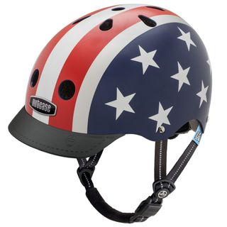 Nutcase Little Nutty Stars & Stripes Kinderfahrradhelm – Bild 1