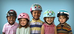 Nutcase Little Nutty Purple Panda Kinderfahrradhelm – Bild 3