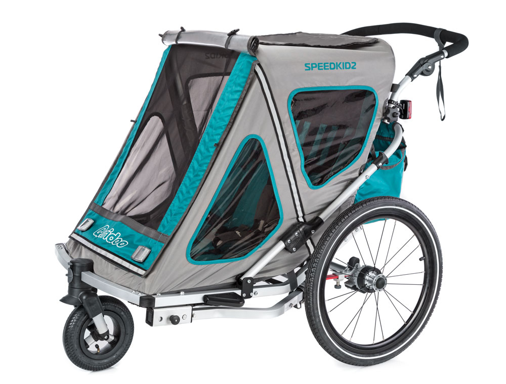 Qeridoo Speedkid 2 kids bike trailer 2018