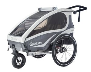 Qeridoo Kidgoo 1 kids bike trailer 2018