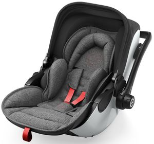 Kiddy Evoluna i-Size 2 2018 - Fashion Collection Grey Melange inkl. Isofix Station – Bild 1
