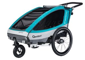 Qeridoo Sportrex 2 kids bike trailer...