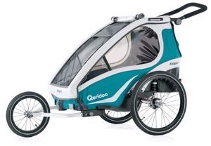 Qeridoo Kidgoo 1 kids bike trailer 2019