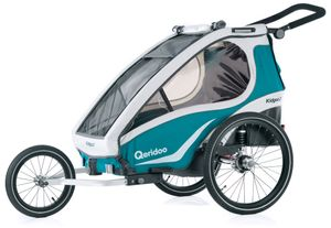 Qeridoo Kidgoo 2 kids bike trailer 2019