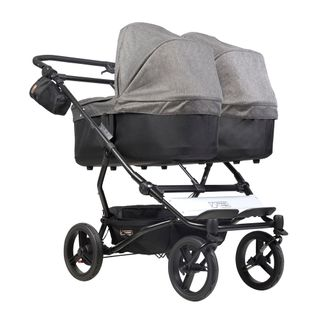 Mountain Buggy Duet V3 Herringbone Luxury Collection Twins Stroller – Image 4
