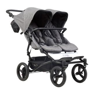 Mountain Buggy Duet V3 Herringbone Luxury Collection Twins Stroller – Image 1