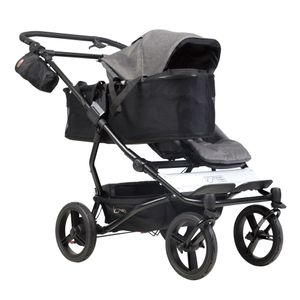 Mountain Buggy Duet V3 Herringbone Luxury Collection Twins Stroller – Image 7