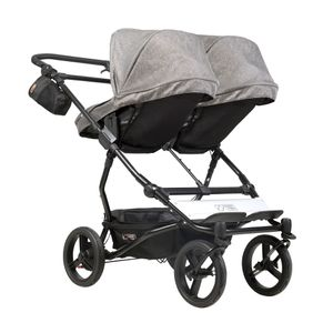 Mountain Buggy Duet V3 Herringbone Luxury Collection Twins Stroller – Image 10