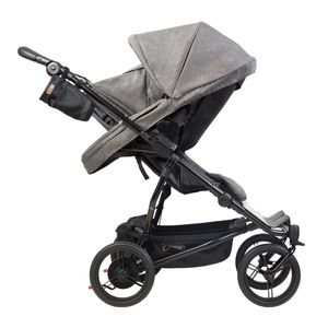 Mountain Buggy Duet V3 Herringbone Luxury Collection Twins Stroller – Image 5