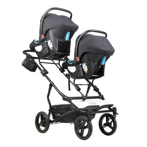 Mountain Buggy Duet V3 Herringbone Luxury Collection Twins Stroller – Image 12