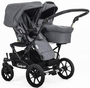 Emmaljunga Double Viking 735 Kinderwagen