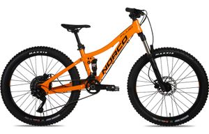 Norco Fluid 24 FS 2019 Orange/Blau