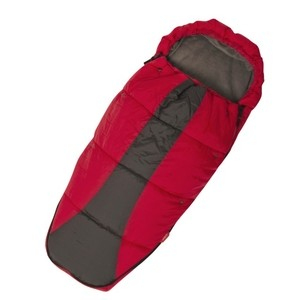 phil&teds snuggle&snooze Schlafsack red-charcoal/rot-schwarz 001