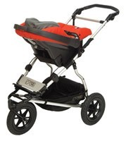 Travel System Mountain Buggy Clip23 Urban Jungle, Terrain, +One von 2010-2014 – Image 2