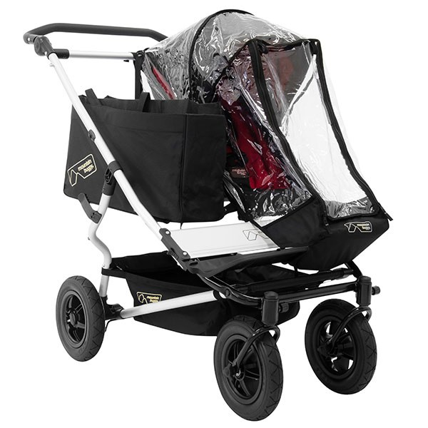 Mountain Buggy Duet Regenschutz Single 2011 bis 2014 – Bild