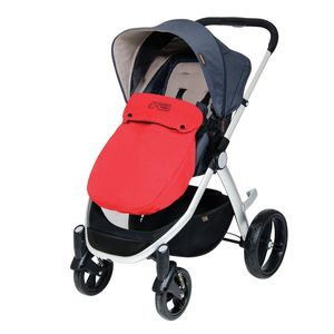 Mountain Buggy Cosmopolitan Beindecke Cosy Toe chilli rot – Image 3