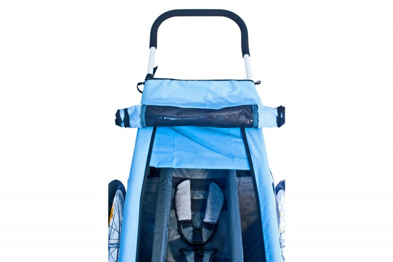 Croozer Sun Cover blau für Kid for 1 2008-2013 – Image