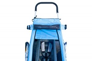 Croozer Sun Cover blau für Kid for 1...