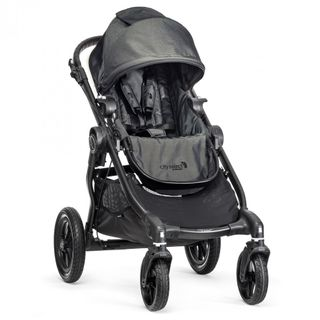 Baby Jogger city select Sonderedition 2018-Black Denim mit schwarzem Gestell – Image 1
