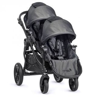 Baby Jogger city select Sonderedition 2018-Black Denim mit schwarzem Gestell – Image 2
