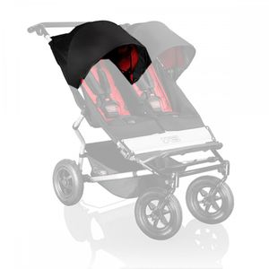 Mountain Buggy Sunhood für Duet black links 001