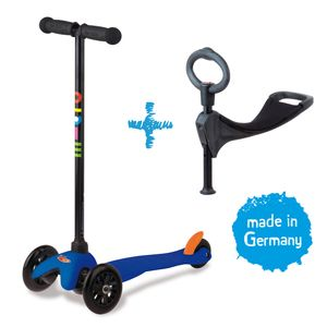 Mini Micro 3in1 Kinderroller Blau