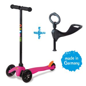 Mini Micro 3in1 Kinderroller Pink 001