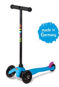 Mini Micro Kinderroller Sporty Neon Blau