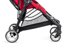 baby jogger CITY MINI™ ZIP 2014 Red - RETOURENWARE -  – Bild 3
