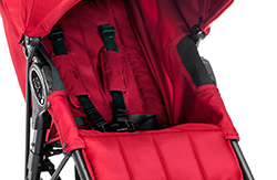baby jogger CITY MINI™ ZIP 2014 Red - RETOURENWARE -  – Bild 4