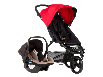 Mountain Buggy Mini Kinderwagen inkl.TS+Cars seat Protect 2016 – Bild 1