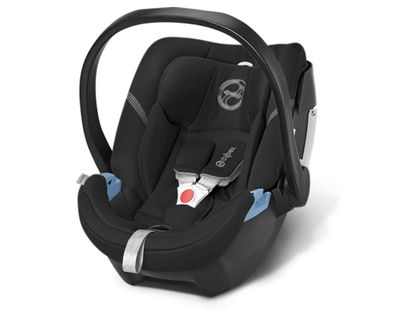 Cybex Aton 4 2016 Kindersitz Happy Black – Bild 1