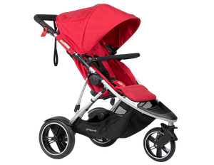 phil & teds Dash Kinderwagen 2018 red