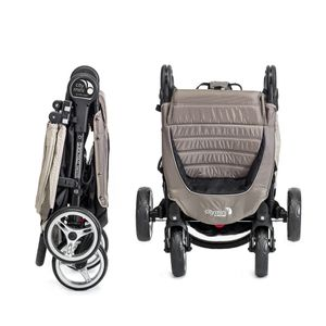 baby jogger CITY MINI™ 4-Rad 2018 - steel/gray – Bild 3