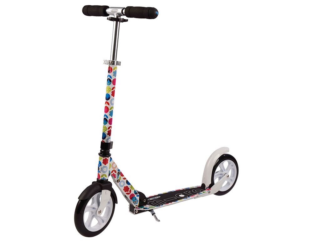 Micro Scooter White Floral Roller SA0052 – Bild