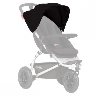 Mountain Buggy Sunhood für Swift black ab 2015 – Bild