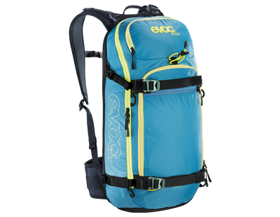 evoc FR Pro 20L ski backpack with back protector – Image 3