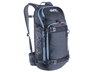 evoc FR Pro 20L ski backpack with back protector – Image 2