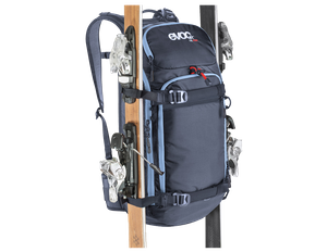 evoc FR Pro 20L ski backpack with back protector – Image 6