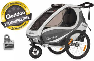 Qeridoo Kidgoo 1 kids bike trailer
