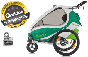 Qeridoo Kidgoo 2 kids bike trailer