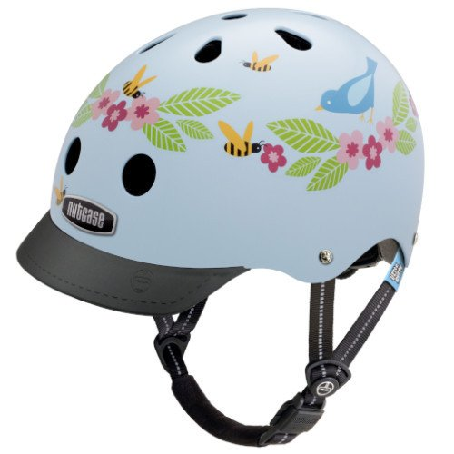 Nutcase Little Nutty Bluebirds and Bees Kinderhelm – Bild